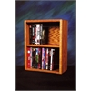Wood Shed Solid Oak desktop or shelf DVD/ VHS Cabinet