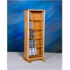 Wood Shed Solid Oak Dowel Cabinet for CD's