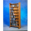 Solid Oak 8 Shelf CD Cabinet