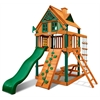 Chateau Treehouse Tower Swing Set w/ Timber Shield