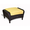 Tortuga Outdoor Lexington Ottoman - Tortoise -   Rave Lemon