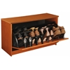 Venture Horizon Single Shoe Chest, 30 x 11-1/2 x 18, Cherry