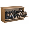 Single Shoe Chest, 30 x 11-1/2 x 18, Oak