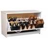 Single Shoe Chest, 30 x 11-1/2 x 18, White
