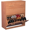 Double Shoe Chest, 30 x 11-1/2 x 34, Oak