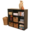 Venture Horizon Project Center Bookcase, 39 x 11-1/2 x 36, Black
