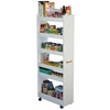 Venture Horizon Thin Man Pantry Cabinet, 10 x 23-1/2 x 58, White