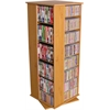 Venture Horizon Revolving Media Tower 800, 19-1/4 x 19 x 50, Oak