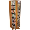 Venture Horizon Revolving Media Tower 1000, 19-1/4 x 19-1/4 x 63, Oak