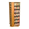Venture Horizon Revolving Media Tower Grande, 24 x 24 x 63, Oak