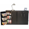 Venture Horizon Double Wide Tape Storage, 48-1/2 x 13 x 31, Black