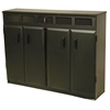 Top Load Media Cabinet, 48 x 13 x 37-1/4, Black