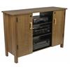 Multi-Media A/V Cabinet, 47-1/4 x 15-3/4 x 32-3/8, Oak
