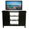 Venture Horizon Multi-Media A/V Cabinet, 47-1/4 x 15-3/4 x 32-3/8, Black