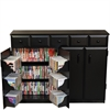 Venture Horizon Top Load W/Drawers, 48-1/2 x 13 x 37-1/4, Black