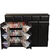 Venture Horizon Top Load W/Drawers, 48-1/2 x 13 x 37-1/4, Black