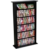 Venture Horizon Media Storage Tower-Regular Single, 28 x 9-1/2 x 50, Black