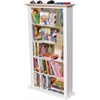 Venture Horizon Media Storage Tower-Regular Single, 28 x 9-1/2 x 50, White