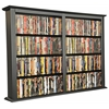 Wall Mounted Cabinet-Double, 52 x 8-1/2 x 36-1/4, Black