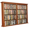Wall Mounted Cabinet-Double, 52 x 8-1/2 x 36-1/4, Cherry