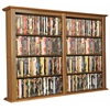 Venture Horizon Wall Mounted Cabinet-Double, 52 x 8-1/2 x 36-1/4, Oak