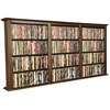 Venture Horizon Wall Mounted Cabinet-Triple, 76 x 8-1/2 x 36-1/4, Walnut