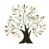 Benzara Metal Tree/Shell Leaves Anytime Wall Decor Upgrade Option