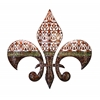 Metal Wall Decor Excellent Fleur Di Lis On Metal Wall Decor