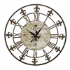Benzara Metal Clock To Track The Time In Style