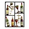 Benzara Metal Wine Decor Shows Style Of Life