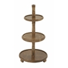 "Striking Wood 3 Tier Tray 14""W, 29""H"