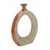 """Benzara Attractive Aluminum Vase 15""""W, 18""""H"""