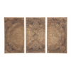 Benzara The Classic Set Of 3 Wood Wall Panel