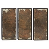 Benzara Breathtaking Wood Wall Panel Set Of 3