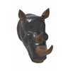 Fierce Fiberglass Rhino Trophy Head