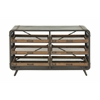 Splendid Metal Wood Console
