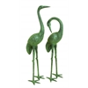 Benzara Aluminum Garden Crane Pair To Refresh The Decor Appeal