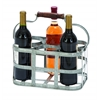 "Benzara Vino Metal Wine Holder 13""W, 7""H"