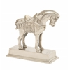 Benzara Most Beautiful Aluminum Horse With Base
