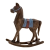 Benzara Simply Delightful Wood Rocking Horse