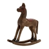 Benzara Next Best Wood Small Rocking Horse