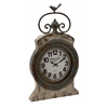 Benzara Rustic And Artistic Metal Wall Clock