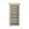 "Benzara Vintage Styled Wood Glass Key Cabinet 14""W, 26""H"