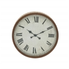 Benzara Sublime And Sturdy Metal Wall Clock