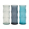Benzara Timelessly Beautiful Glass Bamboo Vase 3 Assorted