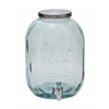 "Stunning Glass Beverage Dispenser 10""W, 14""H"