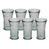 "Benzara Enticing Set Of Six Glass Coca Cola 4""W, 6""H"