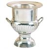 Benzara Silver Plated Brass Sp Wine Bucket