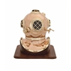 The Unique Metal Wood Diving Helmet