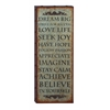 Benzara Wall Decor With Rustic Finish And Robust Design